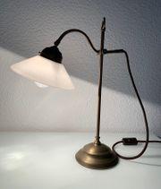 Berliner Messinglampen Schreibtisch- Tischleuchte