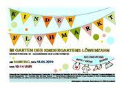 Kinderflohmarkt im Kindergarten Löwenzahn Rosenheim
