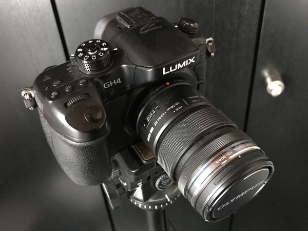 Panasonic LUMIX GH4 mit Olympus