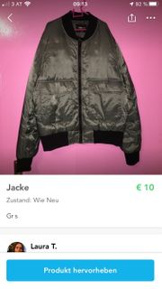 verschiedene Jacken