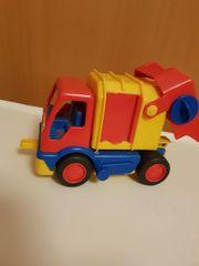 Spielzeug Auto Müllwagen von Wader