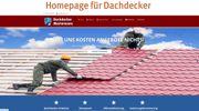 Homepage Webseiten für Dachdecker nur