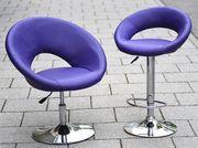 3 Hocker 2 Sessel für