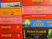 diverse SIEDLER von CATAN Spiele