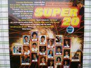 Musikschallplatte Die deutschen Super 20