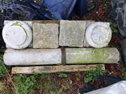 granit Säulen antik 1900 kapitol