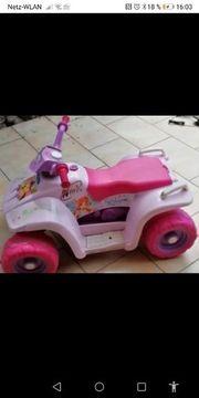 Kinder Mädchen Elektroauto
