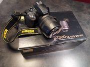 Nikon D3300 18-105 VR Kit