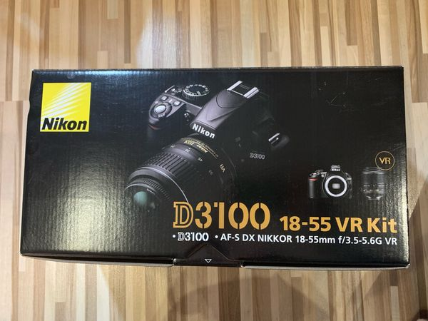 Spiegelreflexkamera - Nikon D3100 incl Objektiv