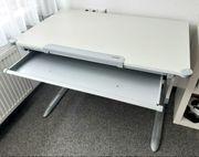 Schreibtisch Kettler weiß gut erhalten