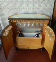 Sehr alte schöne Holzbar - Barschrank -