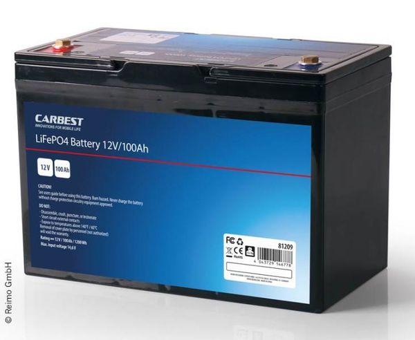 Neue LiFePo4 100Ah Batterie mit