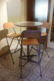 Ikea Billsta Bistrotisch 3 Barhocker