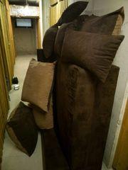 Kleine Couch Wohnlandschaft