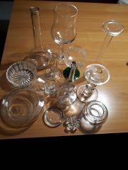 Kerzenhalter Vasen usw