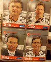 1 FCN-Autogrammkarten - 62 Karten -Club