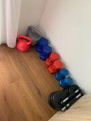 Neuwertiges Fitness Equipment