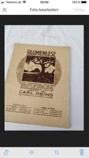 Liederhefte 1934 Violine Piano