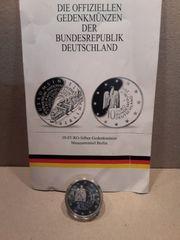 10- Euro- Silber Gedenkmünze