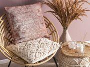 Dekokissen rosa 45 x 45