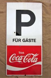 Emailschild COCA COLA - Parkplatz für