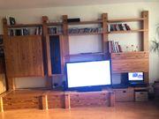 Holz Wohnwand und mehr