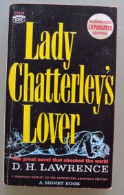 D H Lawrence Lady Chatterly