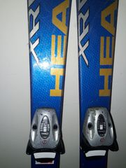 Head Ski Skier mit Bindung