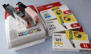 Druckerpatronen 581 für CANON TS