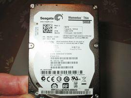 Notebooks, Laptops - 500GB Festplatte HDD SEAGATE MOMENTUS