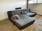 Sofa L-Form Sitzgarnitur Couch