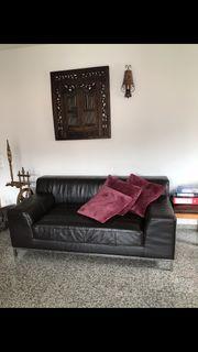 ECHT Leder Couch robust extrem