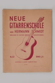 Neue Gitarrenschule Band 1 Hermann