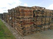 Gebrauchte Einwegpaletten bei Cuxhaven