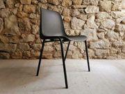 1 v 5 Stühle grau