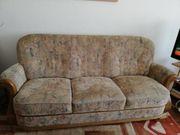 3 teilige Couchgarnitur zu verschenken