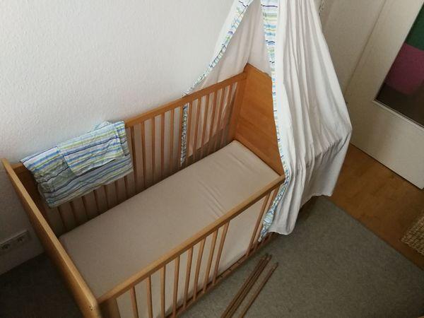 Pinolino Gitterbett Kinderbett Massivholz