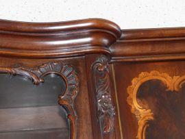 Bild 4 - Elegante antike Anrichte Kommode Massivholz - Fürth