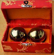 YingYang Kugeln in schöner China-Schachtel
