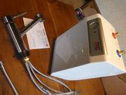 Boiler und Wasserhahn