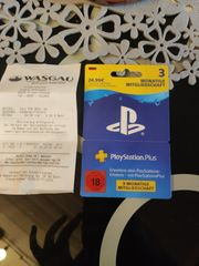 PS Mitgliedschaft 3 Monate Playstation