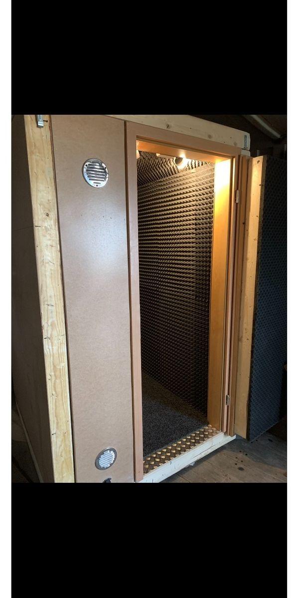 Schallschutz Kabine Recording Unterricht