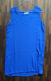 Kleid Royal-Blau Blau Hängerchen UK