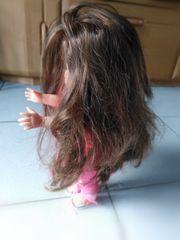 Puppe mit Echthaar