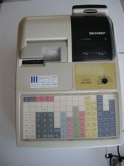 Registrierkasse Sharp-A490