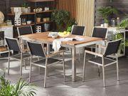 Gartenmöbel Set Teakholz 180 cm