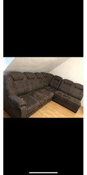 Sofa Couch Wohnlandschaft
