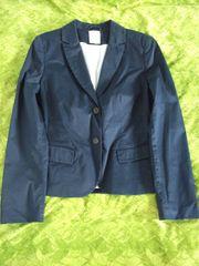 Damen Blazer Jacke 36 Blau