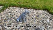 X-MAS Schäferhund sitzend Christbaum Schmuck