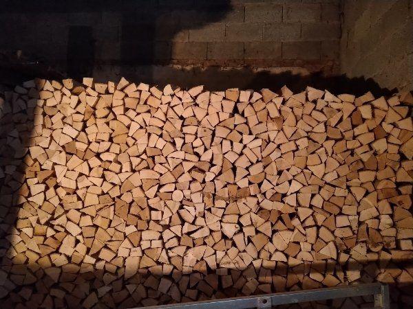 2 Ster Raummeter Brennholz Esche